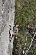 Rock Climbing Photo: jaysen henderson at the crux on tequila mockingbir...