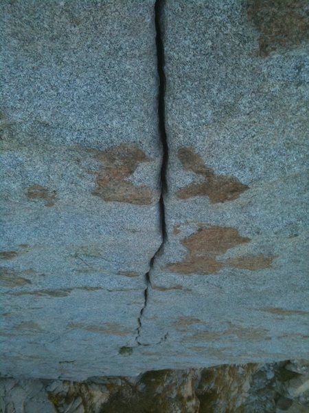 Rock Climbing Photo: Coffin Crack