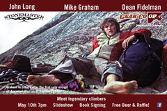 Rock Climbing Photo: Stonemasters May 10th 5pm -10pm @ Gear Co-op in Co...