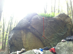 Rock Climbing Photo: Leap Frog (sorry for the crap photo)