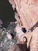 Rock Climbing Photo: Top of Petermans