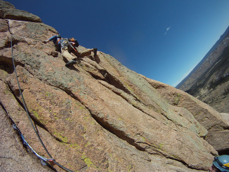 Rock Climbing Photo: Lost in Space 2nd pitch