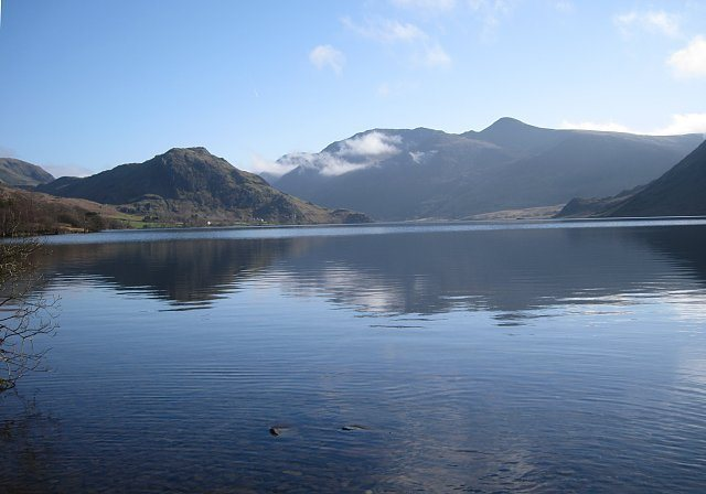 Crummock Water in the Buttermere Valley. Bowker