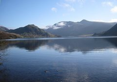 Rock Climbing Photo: Crummock Water in the Buttermere Valley. Bowker