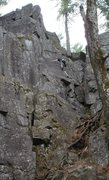 Rock Climbing Photo: View of the lower section