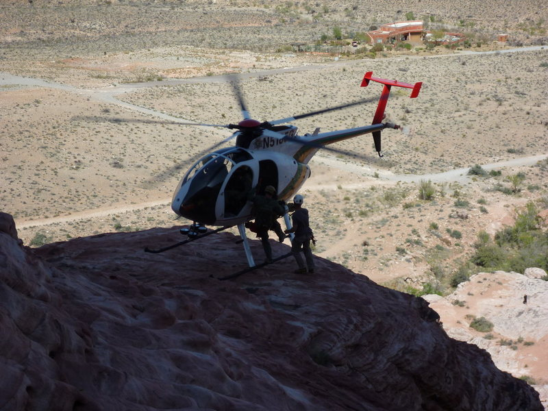 Rescue at Red Rocks