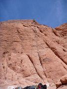 Rock Climbing Photo: What happened to my belayer?