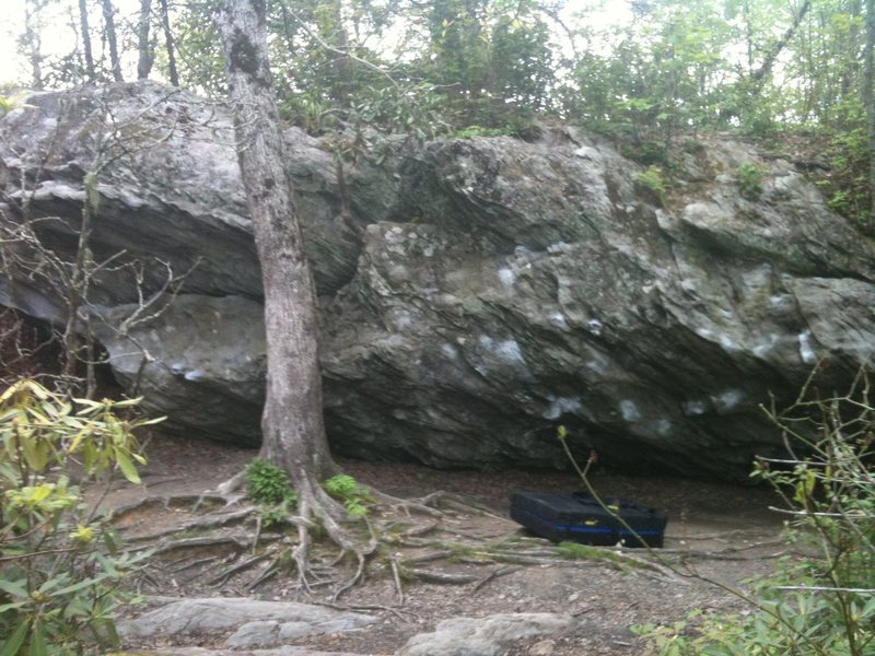 Rock Climbing Photo: Area overview