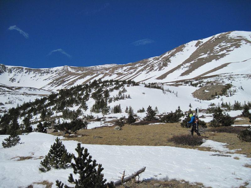 Columbia ski descent