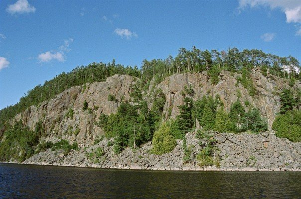 Gull Lake Cliffs, Ontario.