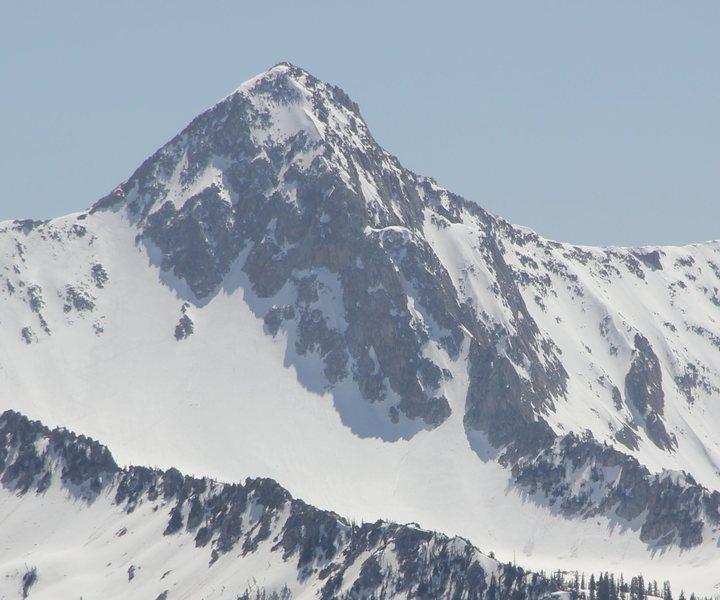 Rock Climbing Photo: Pfeiferhorn from S. Ridge of Superior 5/5/12