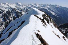Rock Climbing Photo: S. Ridge Superior 5/5/12