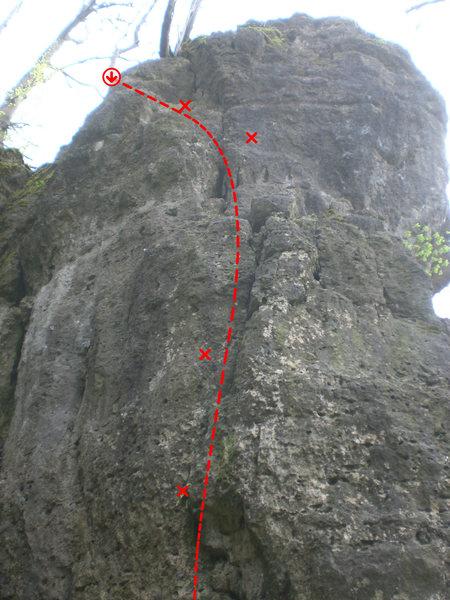 Rock Climbing Photo: Nordwand