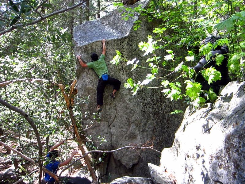 Rock Climbing Photo: Barrel of Laughs.