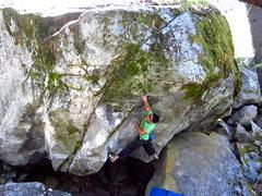 Rock Climbing Photo: Torque.