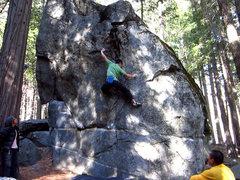 Rock Climbing Photo: UFO II