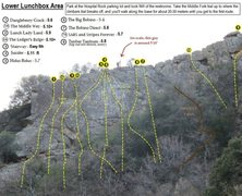 Rock Climbing Photo: For the time being, this is the best topo I can co...