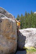 Rock Climbing Photo: Bouldering in Tuolumne Meadows/Yosemite National P...