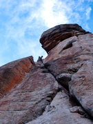 Rock Climbing Photo: X Rock Durango, CO. Difficult 5.7+ Fun single pitc...