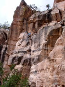 Rock Climbing Photo: East Animas Cliffs. Durango, CO  ??? 5.7-5.9 trad ...