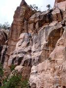 Rock Climbing Photo: East Animas Cliffs. Durango, CO  ??? 5.7-5.9 trad ...