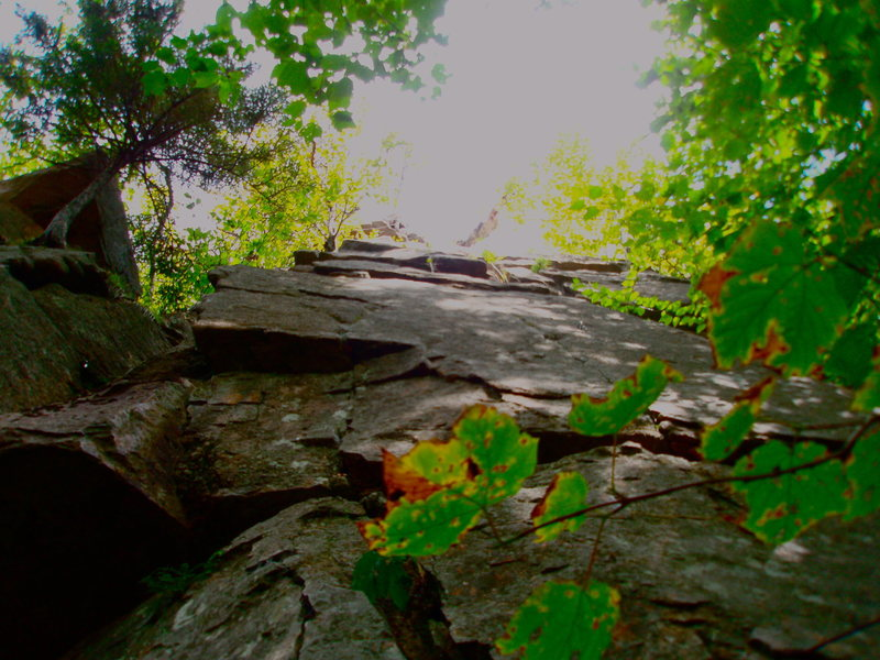 "Rock Climbing Photo: A Place called ""Echo"" Franconia Notch, N..."