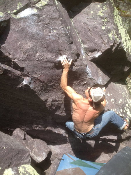 Rock Climbing Photo: Yeah Remo