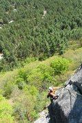 Rock Climbing Photo: baldy, pitch 3