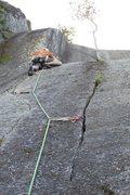Rock Climbing Photo: Baldy, last pitch 5.10a