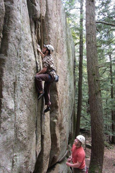 Rock Climbing Photo: austin and travis