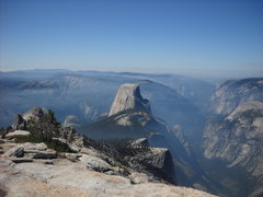 Rock Climbing Photo: half dome from clouds rest