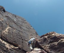 Rock Climbing Photo: Man does that look intimidating for a 5.6