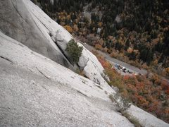 Rock Climbing Photo: As my partner would say, we are airplane high.