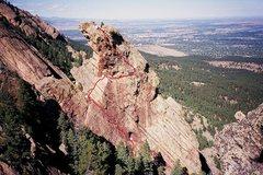 Rock Climbing Photo: Kor-Dalke Route.