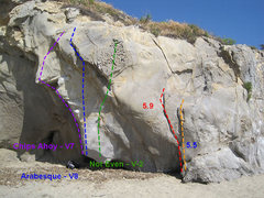 Rock Climbing Photo: There are several ways to transfer routes so look ...