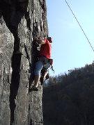 Rock Climbing Photo: moss island