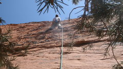 Rock Climbing Photo: first two climbs share anchors-- the left is fun r...