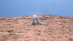 Rock Climbing Photo: DIRTY SON OF A CINCH!!! BIATCH
