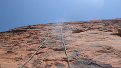 Rock Climbing Photo: TOP ROPE ON THE FIRST TWO CLIMBS