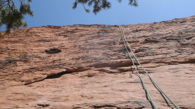 TOP ROPE ON THE THIRD CLIMB