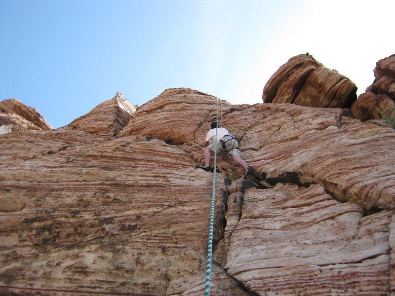 Rock Climbing Photo: scott
