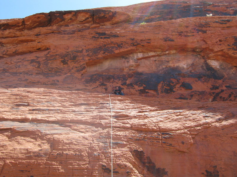 Rock Climbing Photo: timmy 1st climb