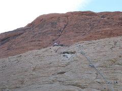 Rock Climbing Photo: 1st pitch (MBF)