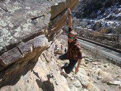 Rock Climbing Photo: Just hanging around the lobby