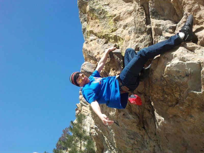 Climbing west