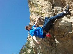 Rock Climbing Photo: Climbing west