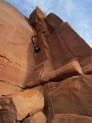 Rock Climbing Photo: Jeff on Pitch 1