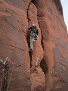 Rock Climbing Photo: Starting pitch 2