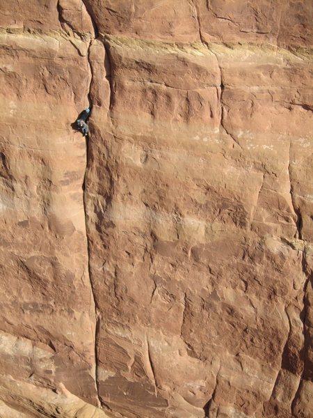 Rock Climbing Photo: Matt, taken from 'Sand Hearse'.
