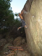 Rock Climbing Photo: Indian Head, trailer park boulder